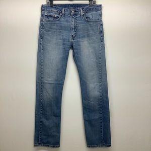 LEVI'S 513 JEANS 34 x 32 Straight Leg Jeans